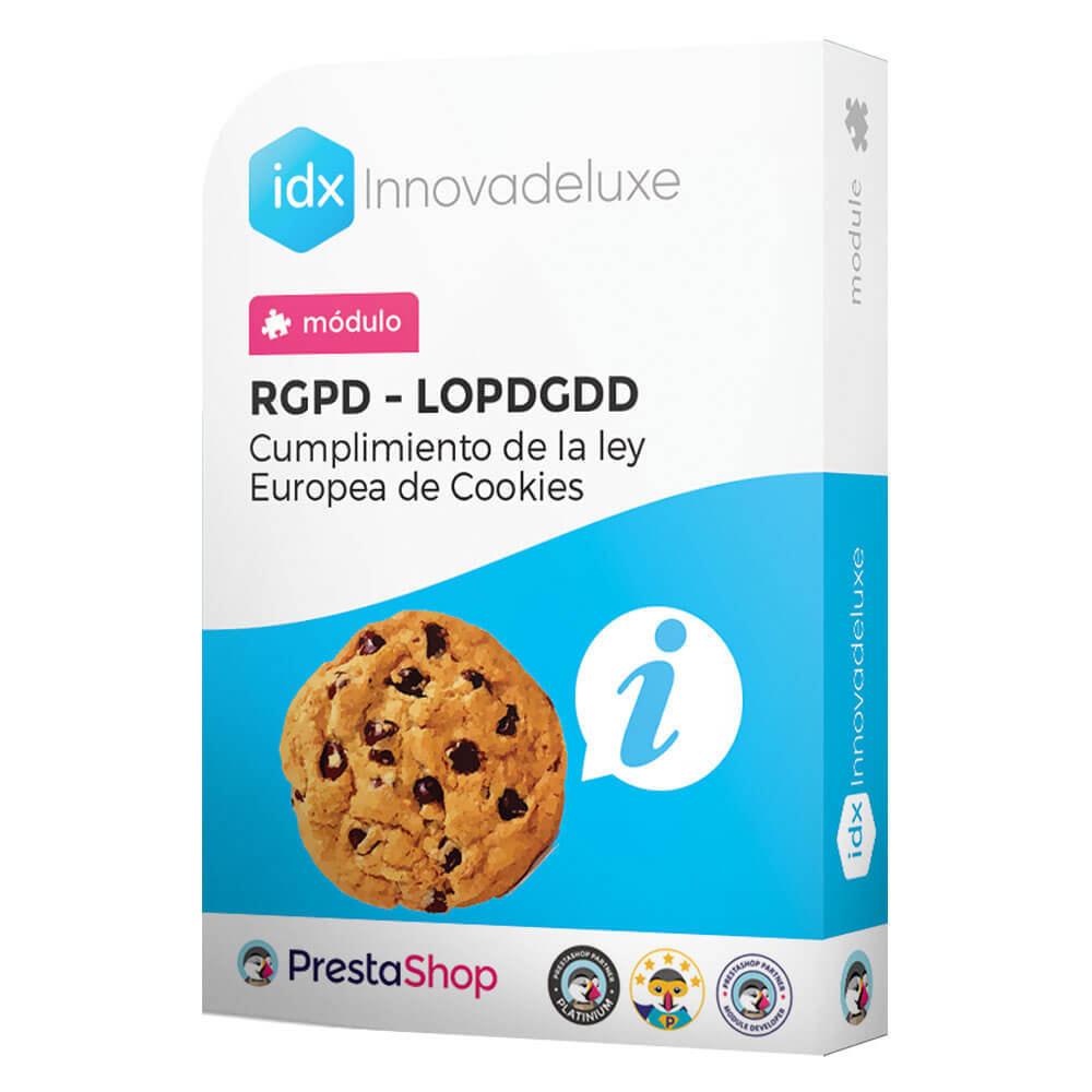 module - Marco Legal (Ley Europea) - Ley de Cookies RGPD/LOPD (Aviso - Auditoría - Bloqueo) - 1