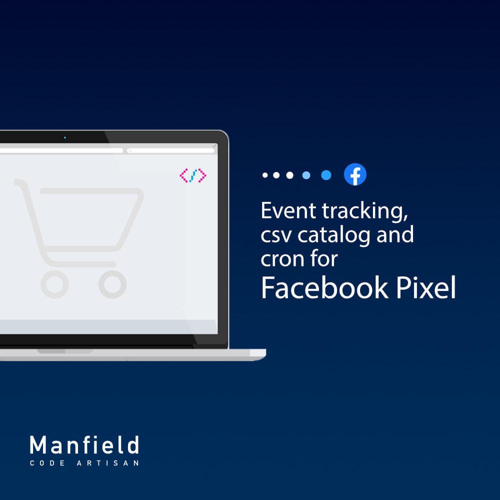 module - Товаров в социальных сетях - Event tracking, csv catalog and cron for Facebook Pixel - 2