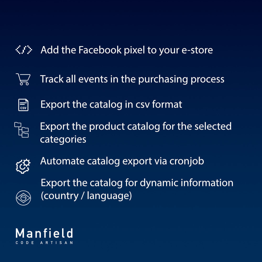 module - Товаров в социальных сетях - Event tracking, csv catalog and cron for Facebook Pixel - 7