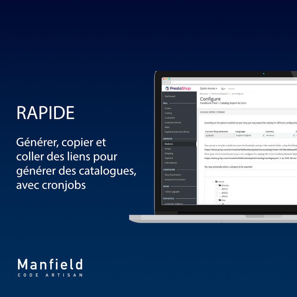 module - Produits sur Facebook & réseaux sociaux - Facebook Pixel + Track E-commerce + Catalogo e Cron - 5
