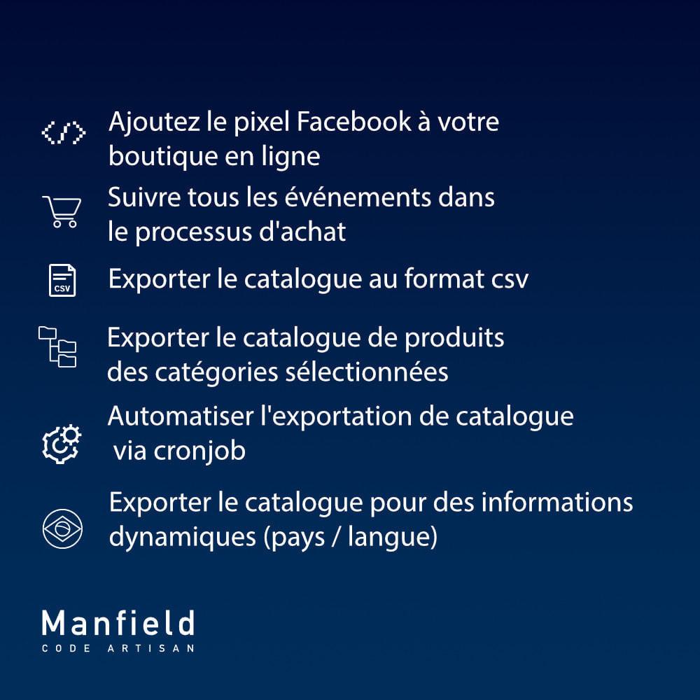 module - Produits sur Facebook & réseaux sociaux - Facebook Pixel + Track E-commerce + Catalogo e Cron - 7