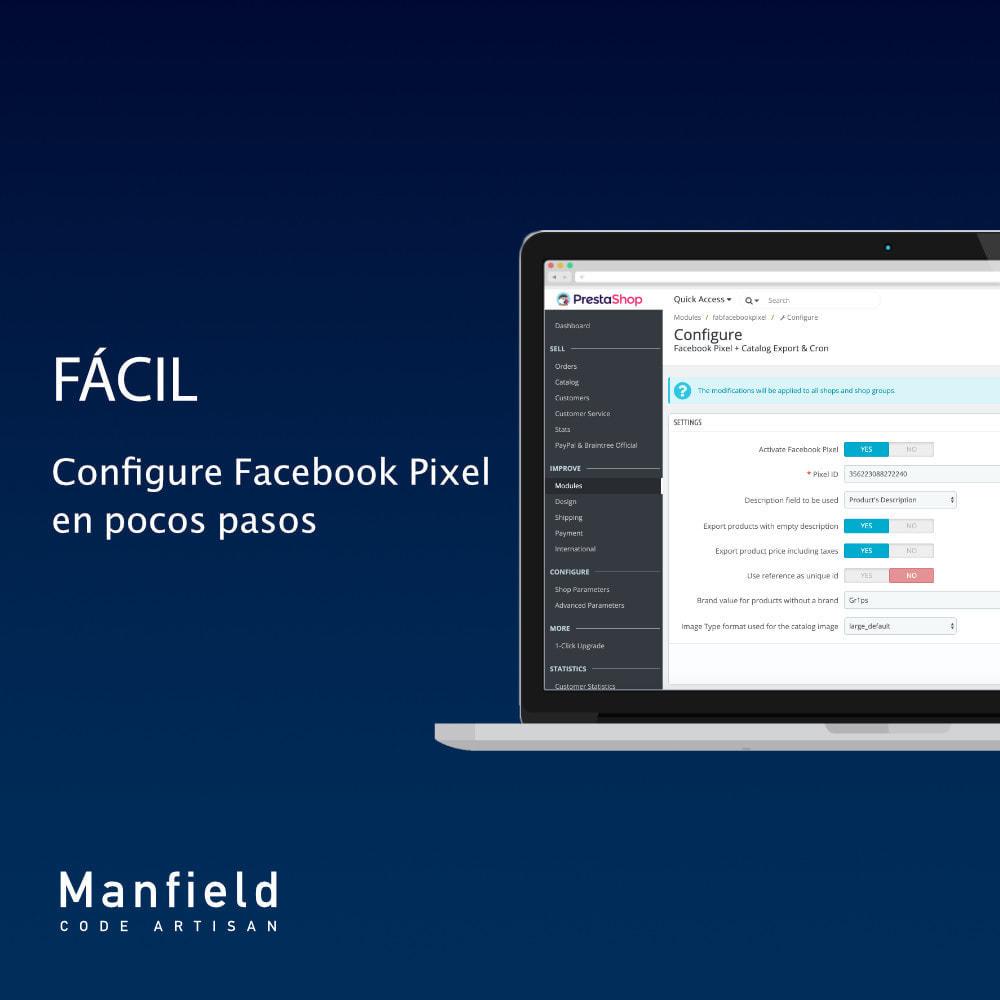 module - Productos en Facebook & redes sociales - Facebook Pixel + Track E-commerce + Catalogo e Cron - 4