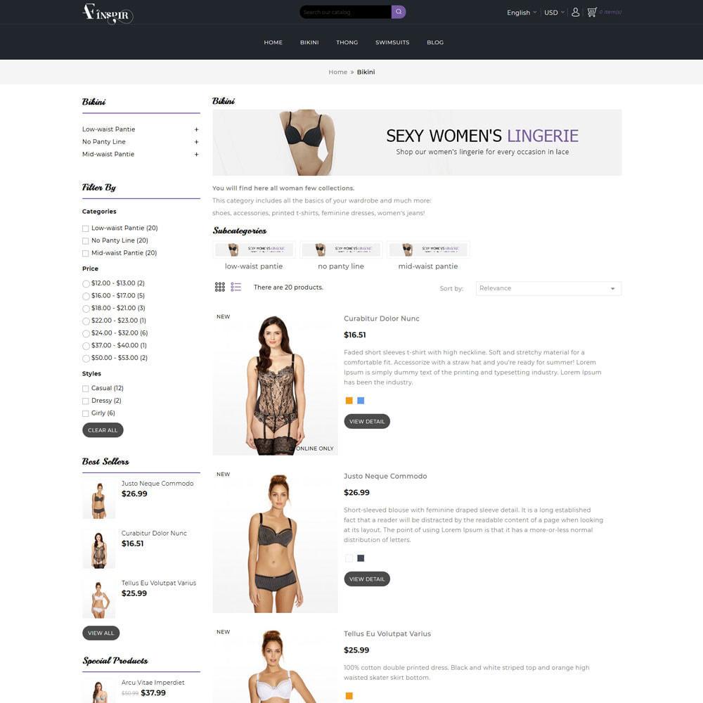 theme - Lingerie & Adultos - Inspir Lingerie Store - 5