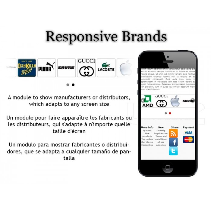 module - Marcas & Fabricantes - Responsive Brands / Suppliers - 1