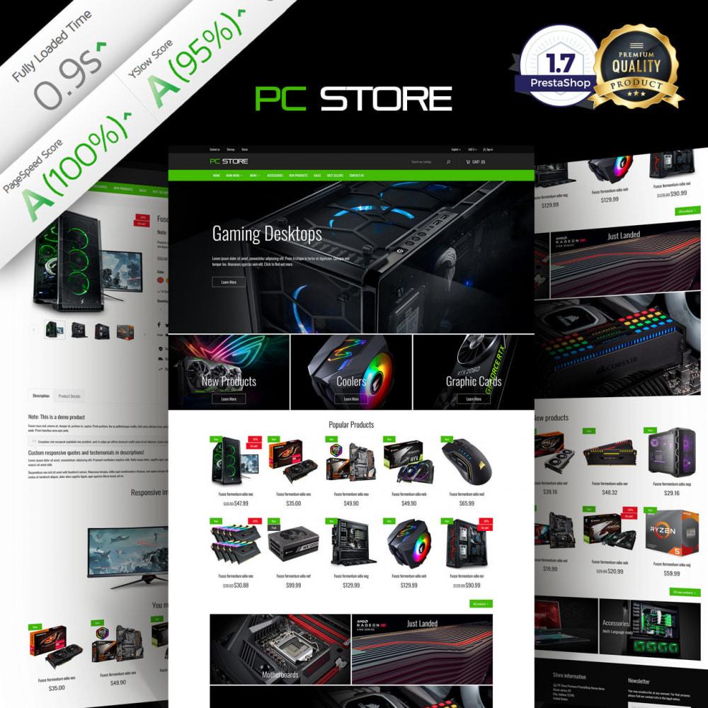 theme - Eletrônicos & High Tech - PC Computer Hardware Store - 1