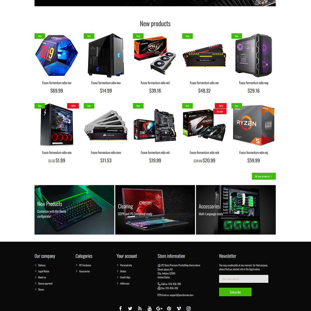 theme - Eletrônicos & High Tech - PC Computer Hardware Store - 4