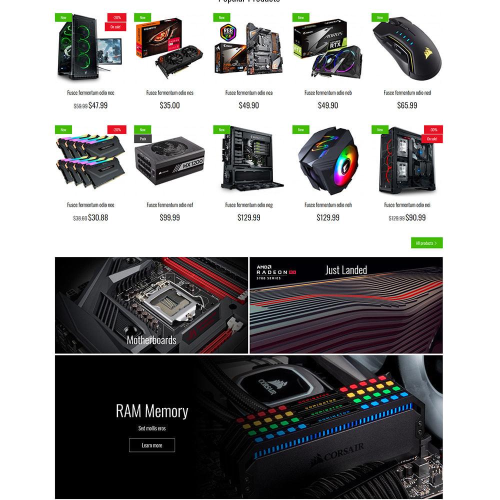 theme - Eletrônicos & High Tech - PC Computer Hardware Store - 5
