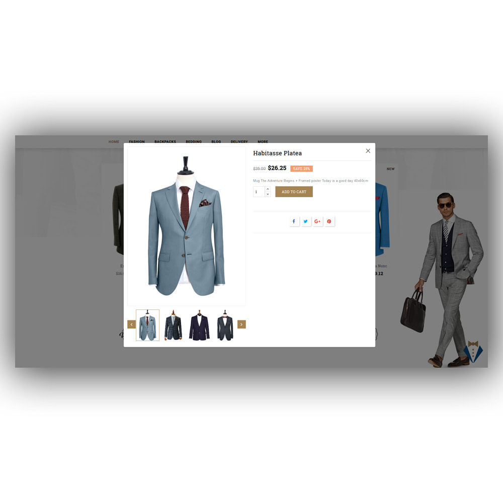 theme - Mode & Chaussures - Facevery - Men's Store - 9