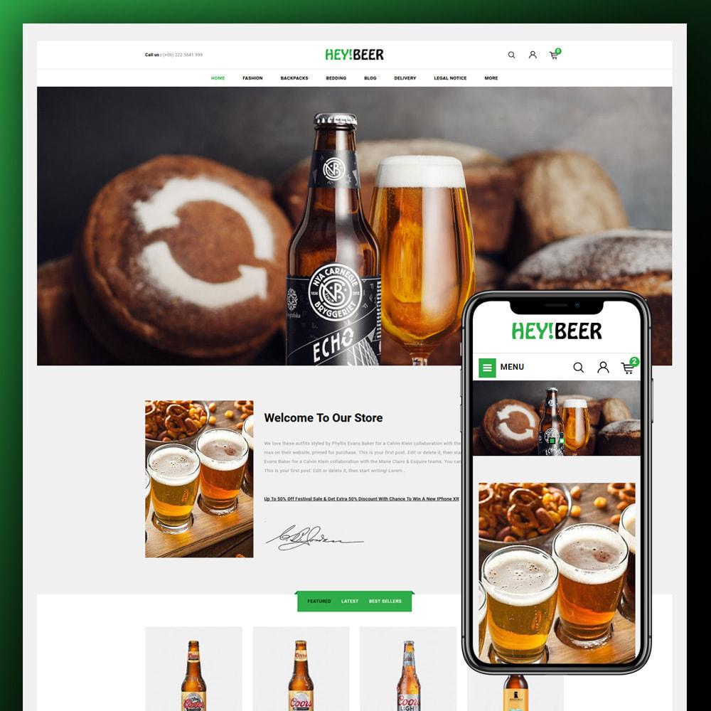 theme - Drink & Tobacco - Heybeer - Beer Store - 1