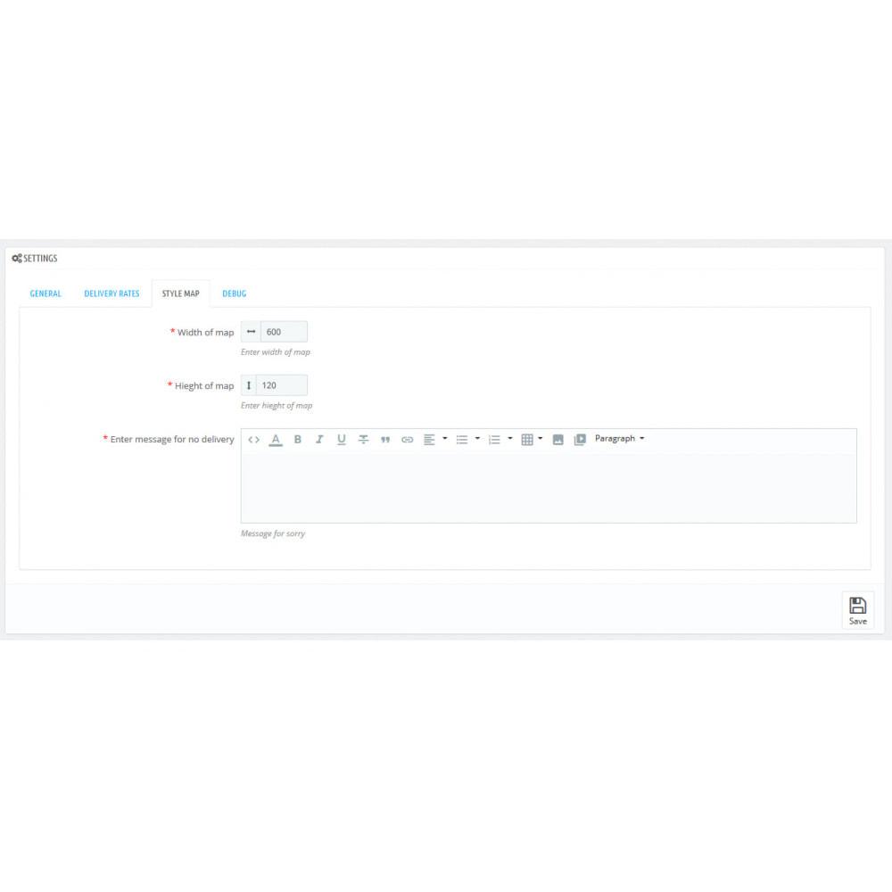 module - Пункты выдачи и Получение в магазине - Distance Local Delivey - 4