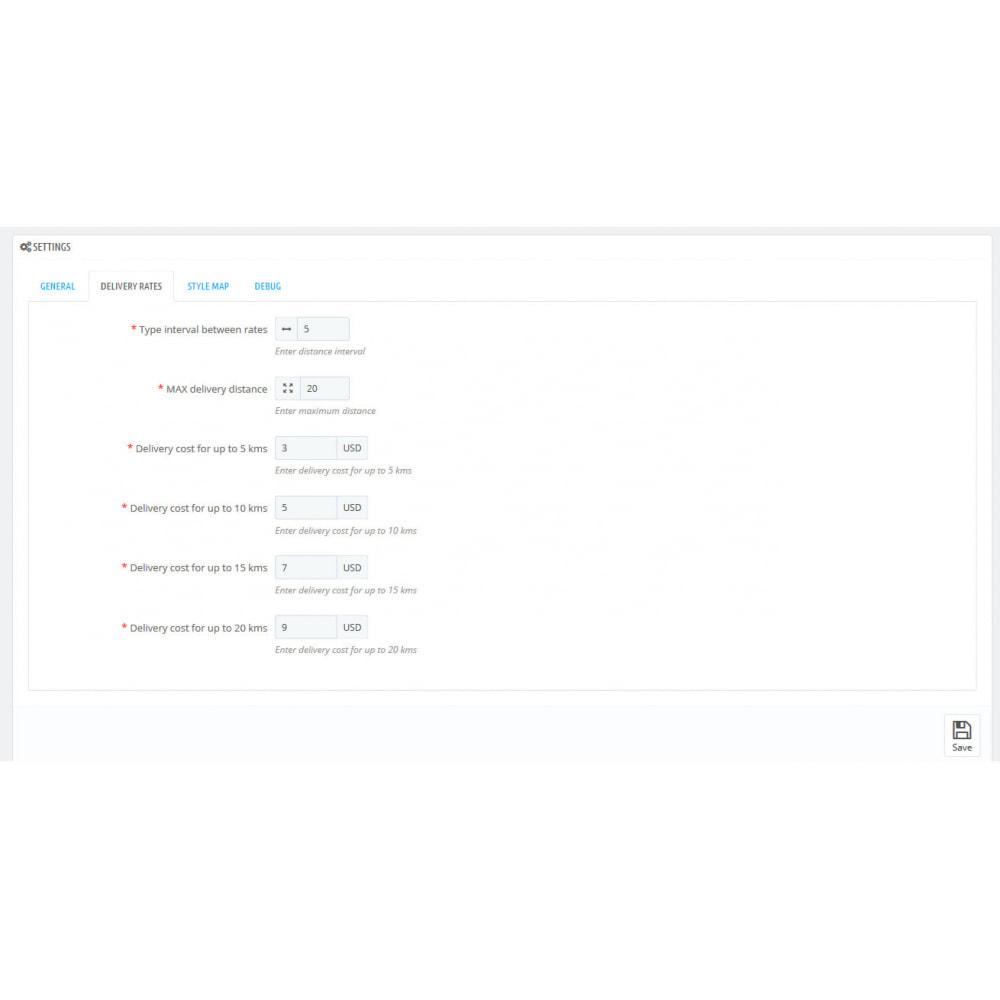 module - Пункты выдачи и Получение в магазине - Distance Local Delivey - 6