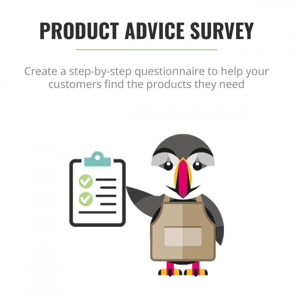 module - Contactformulier & Enquêtes - Product Advice Survey - 1