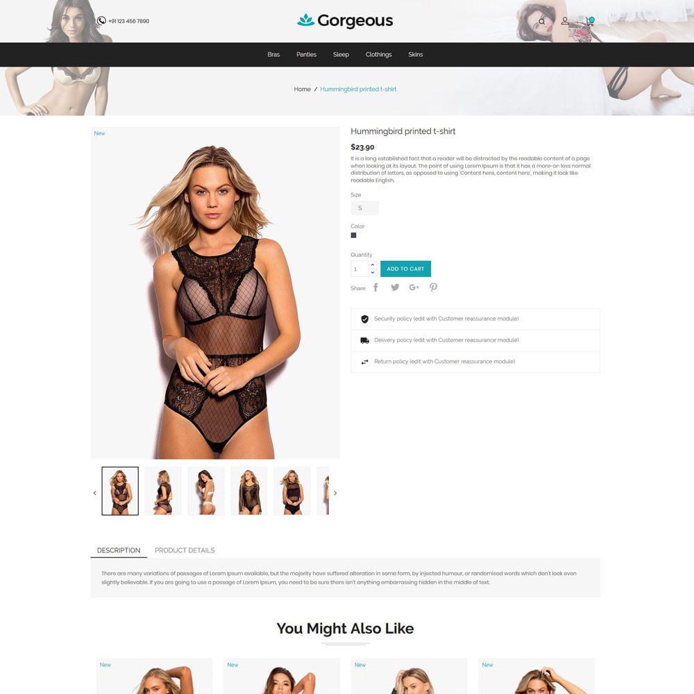 theme - Lingerie & Adulte - Lingerege Adult - Sex Bra Innerwear Store - 5