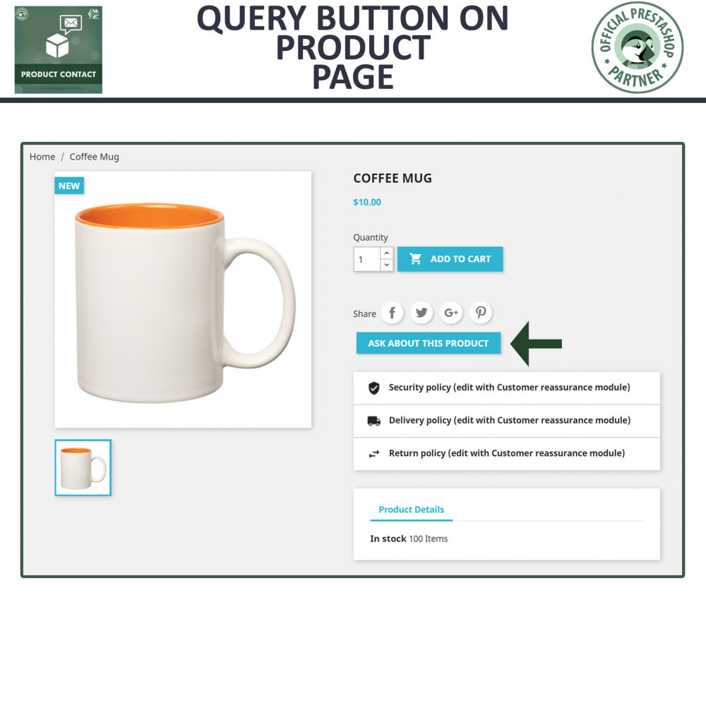 module - Contact Forms & Surveys - Product Inquiry - Contact Form - 2