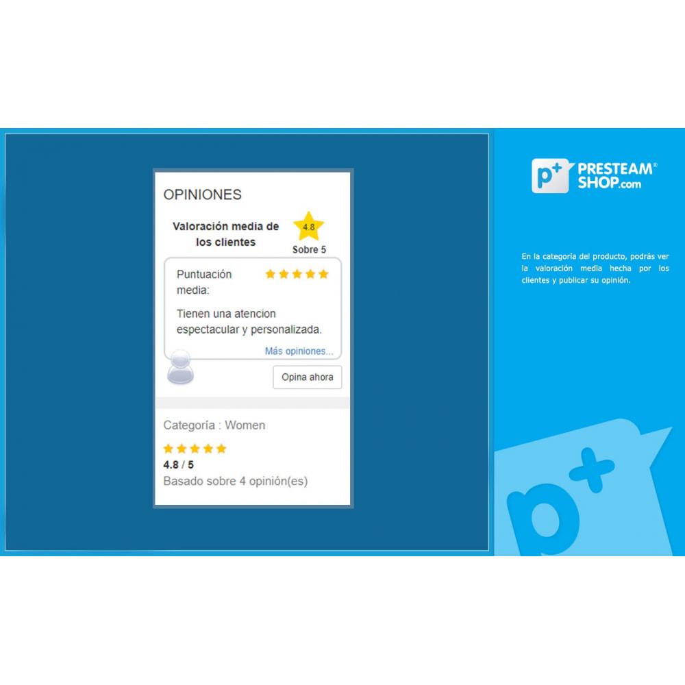 module - Comentarios de clientes - iFeedback - Valoraciónes avanzadas - 3