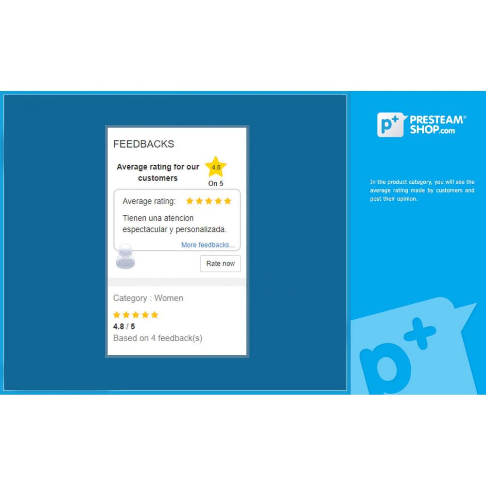 module - Отзывы клиентов - iFeedback - Advanced ratings - 3