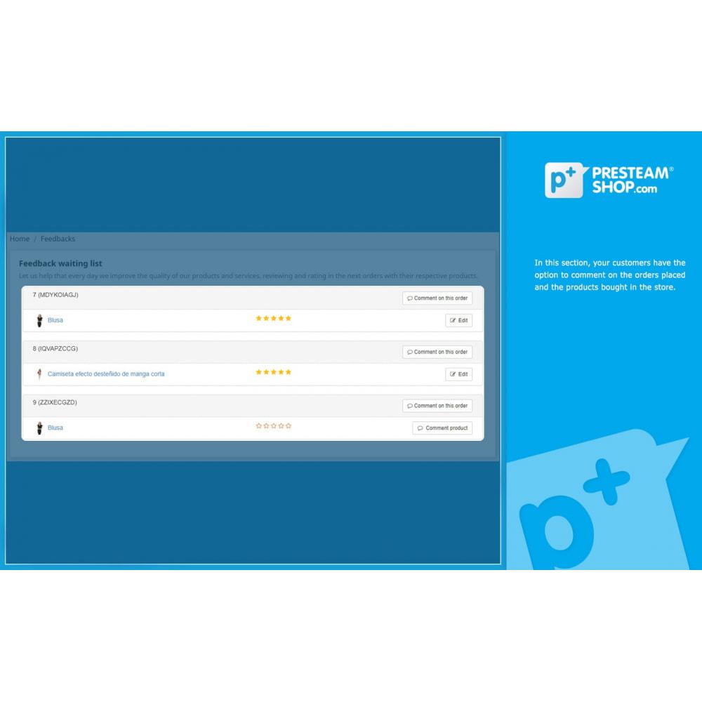 module - Отзывы клиентов - iFeedback - Advanced ratings - 8