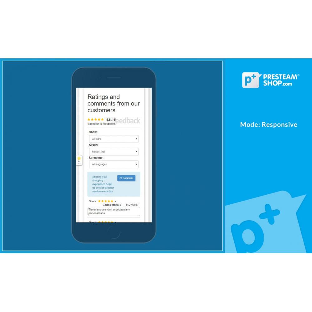 module - Отзывы клиентов - iFeedback - Advanced ratings - 13