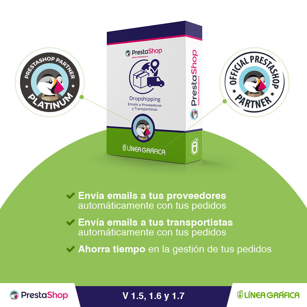 module - Dropshipping - Dropshipping – Emails a Proveedores y Transportistas - 1