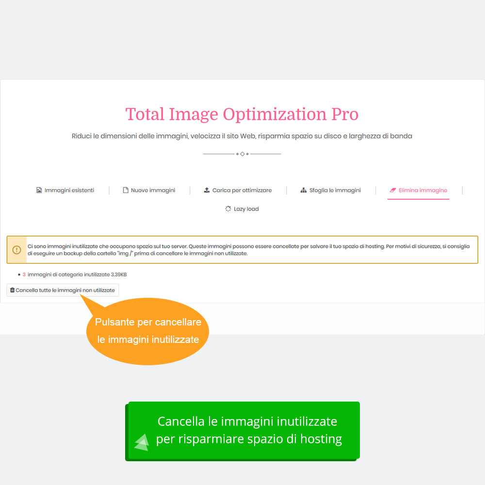 module - Website Performance - Total Image Optimization Pro-Compressione senza perdita - 9