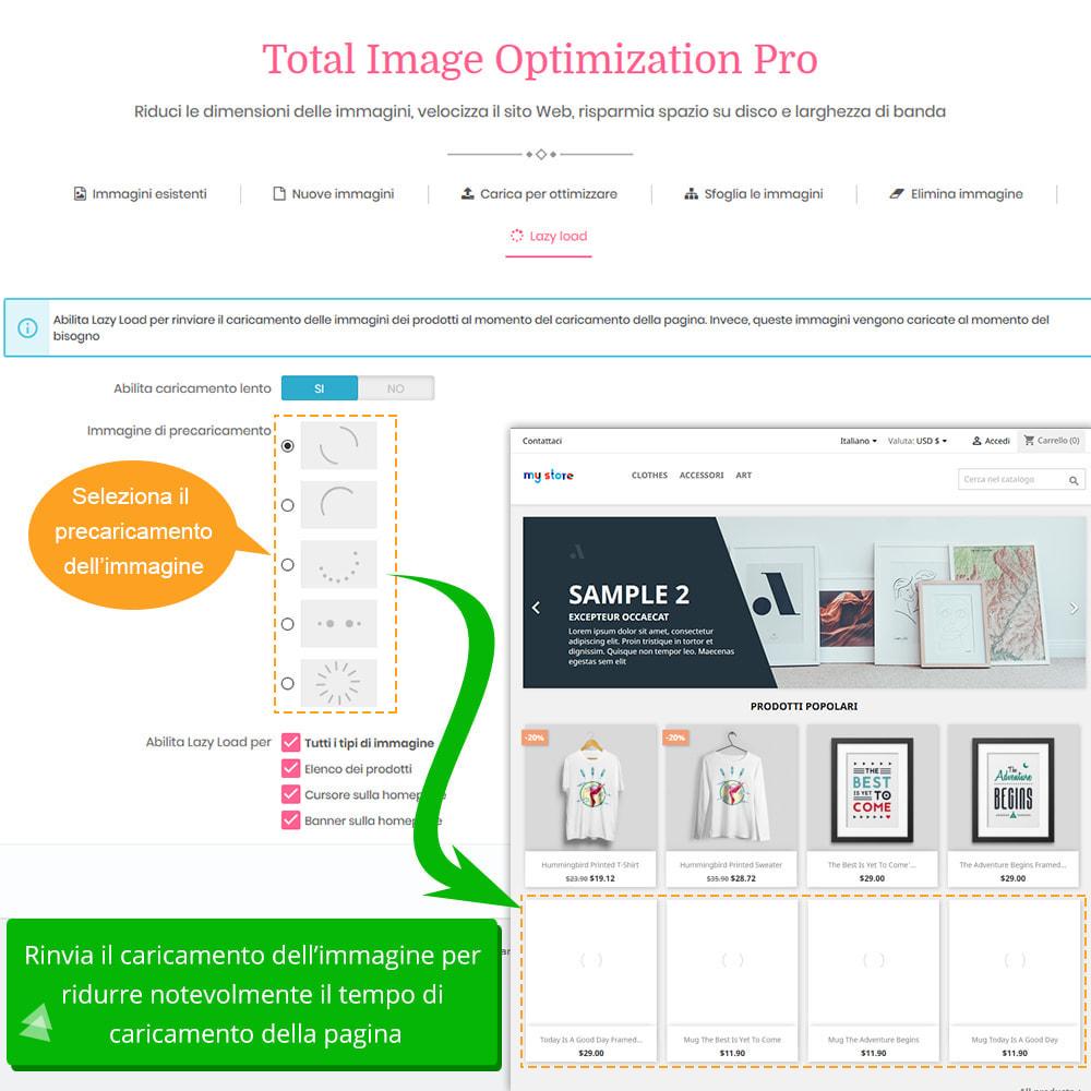 module - Website Performance - Total Image Optimization Pro-Compressione senza perdita - 10