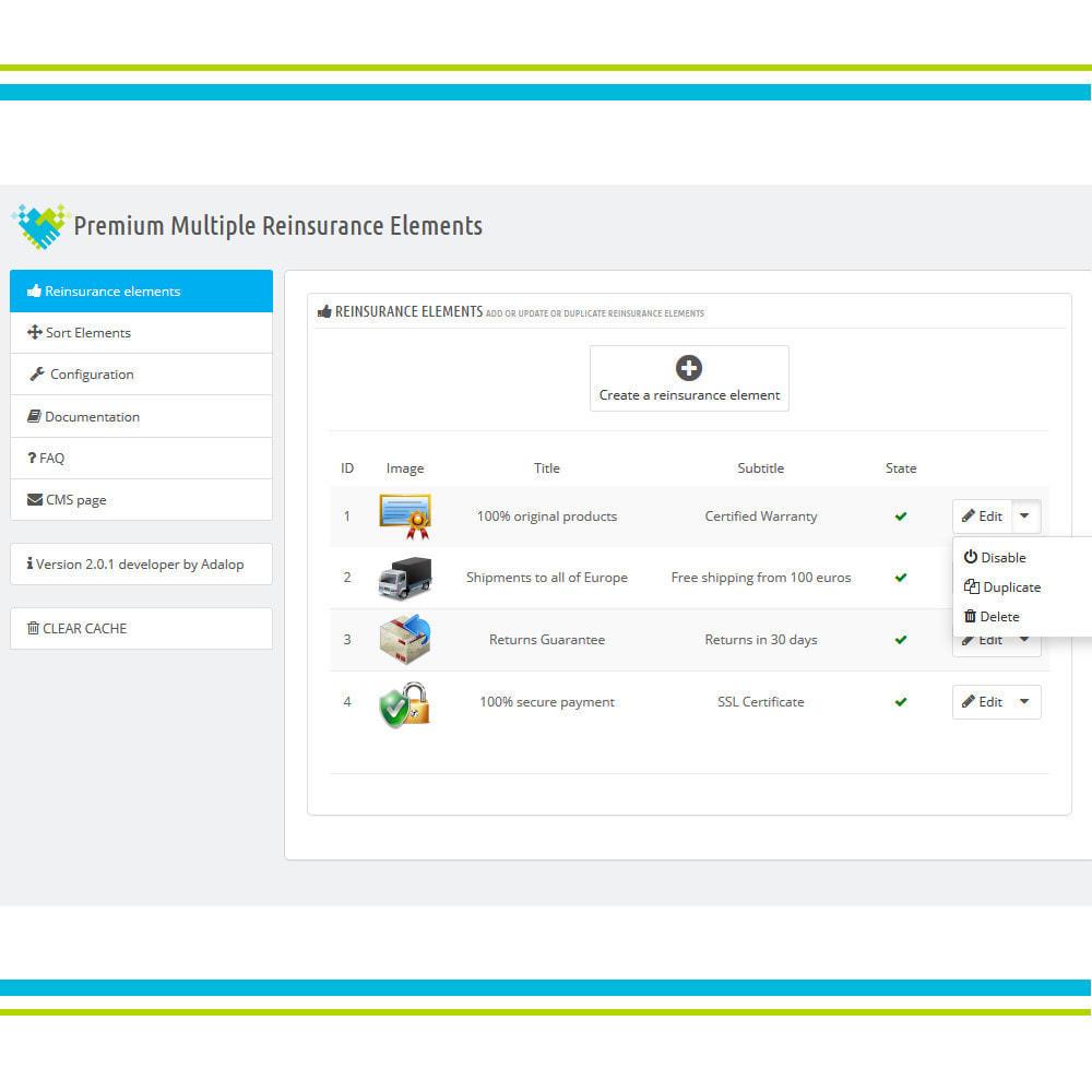 module - Personalización de la página - Añade Múltiples Elementos Confianza Animados - Lottie - 4