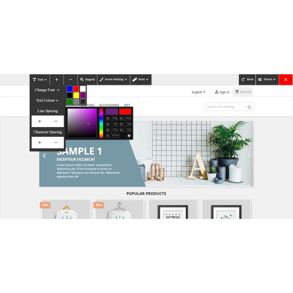 module - Produkte auf der Startseite - Accessibility - 2