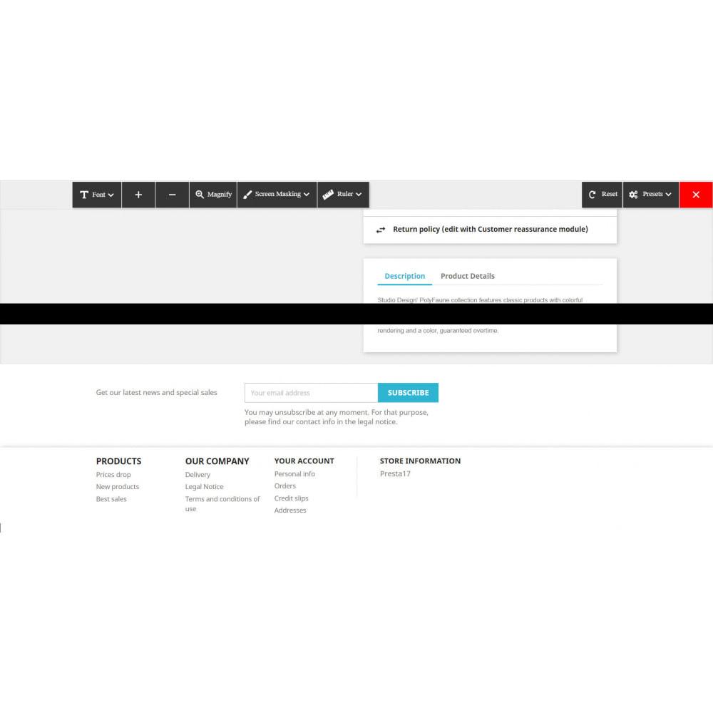 module - Produkte auf der Startseite - Accessibility - 4