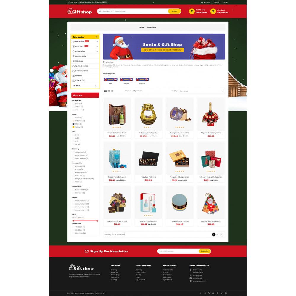 theme - Geschenke, Blumen & Feiern - Gift & Articles Shop - 3