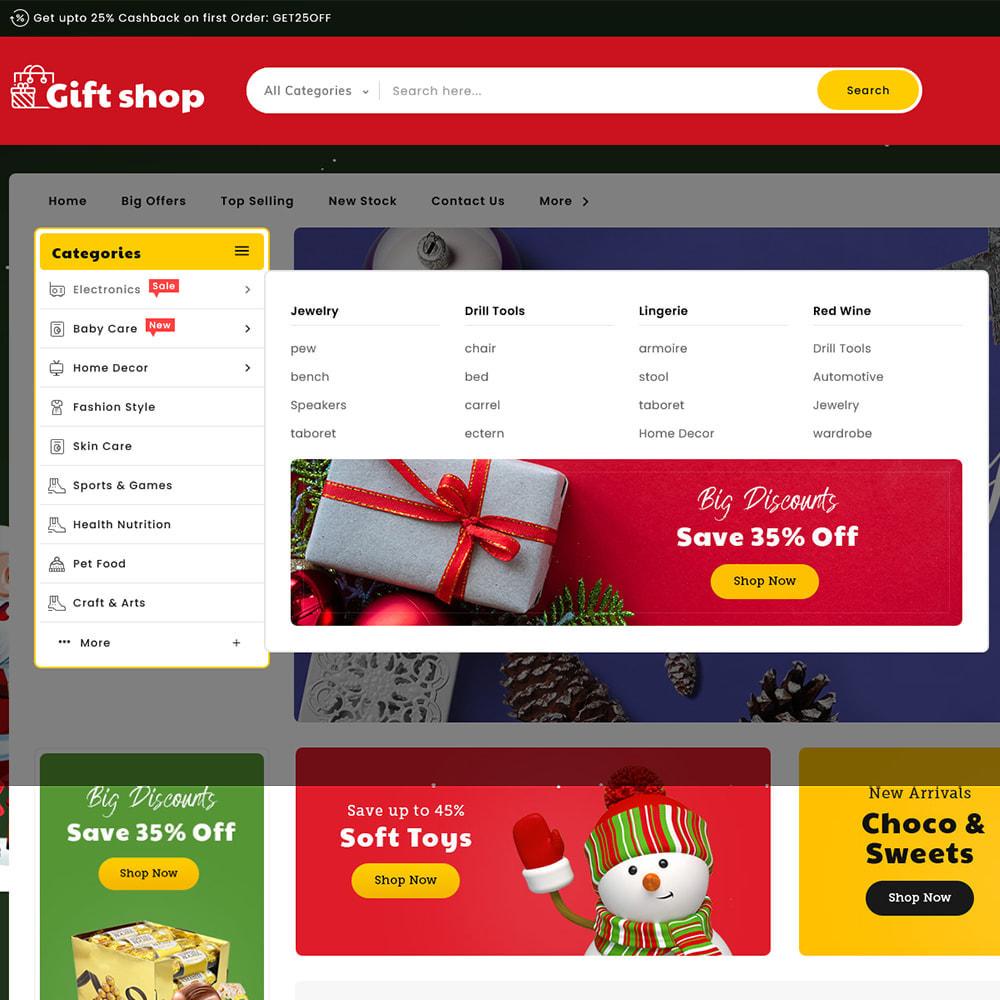 theme - Geschenke, Blumen & Feiern - Gift & Articles Shop - 9