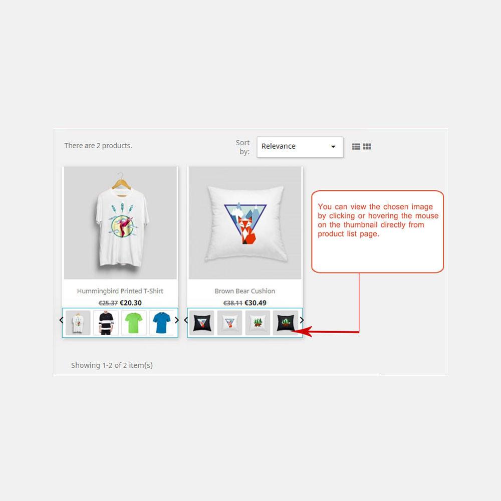 module - Visuels des produits - Images produit dans la liste des produits - 1