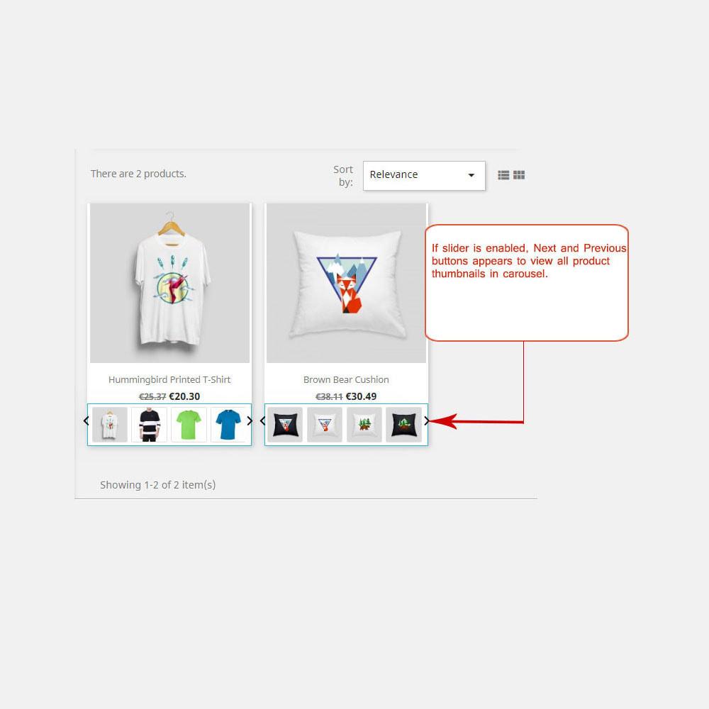 module - Visuels des produits - Images produit dans la liste des produits - 2