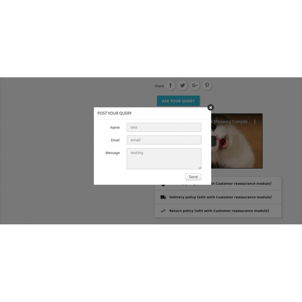 module - Dodatkowe informacje & Zakładka produktu - Product Additional Information, Extra Tabs and Enquiry - 5
