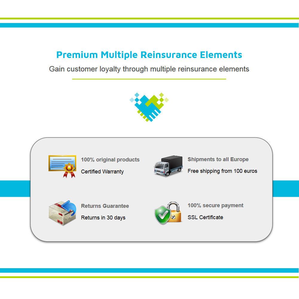 module - Personalizzazione pagine - Aggiungi elementi di fiducia multipli animati - Lottie - 2