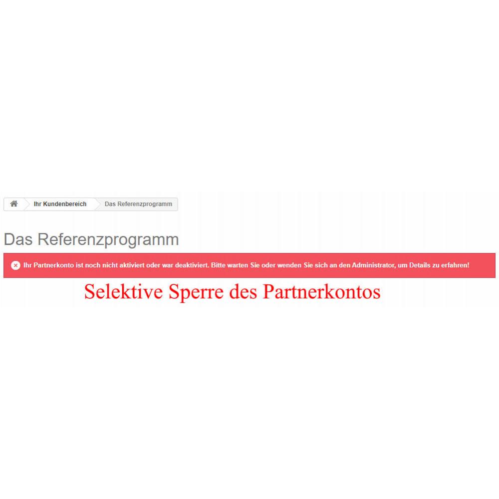 module - SEA SEM (Bezahlte Werbung) & Affiliate Plattformen - Das erweiterte Referenzprogramm RefPRO - 19