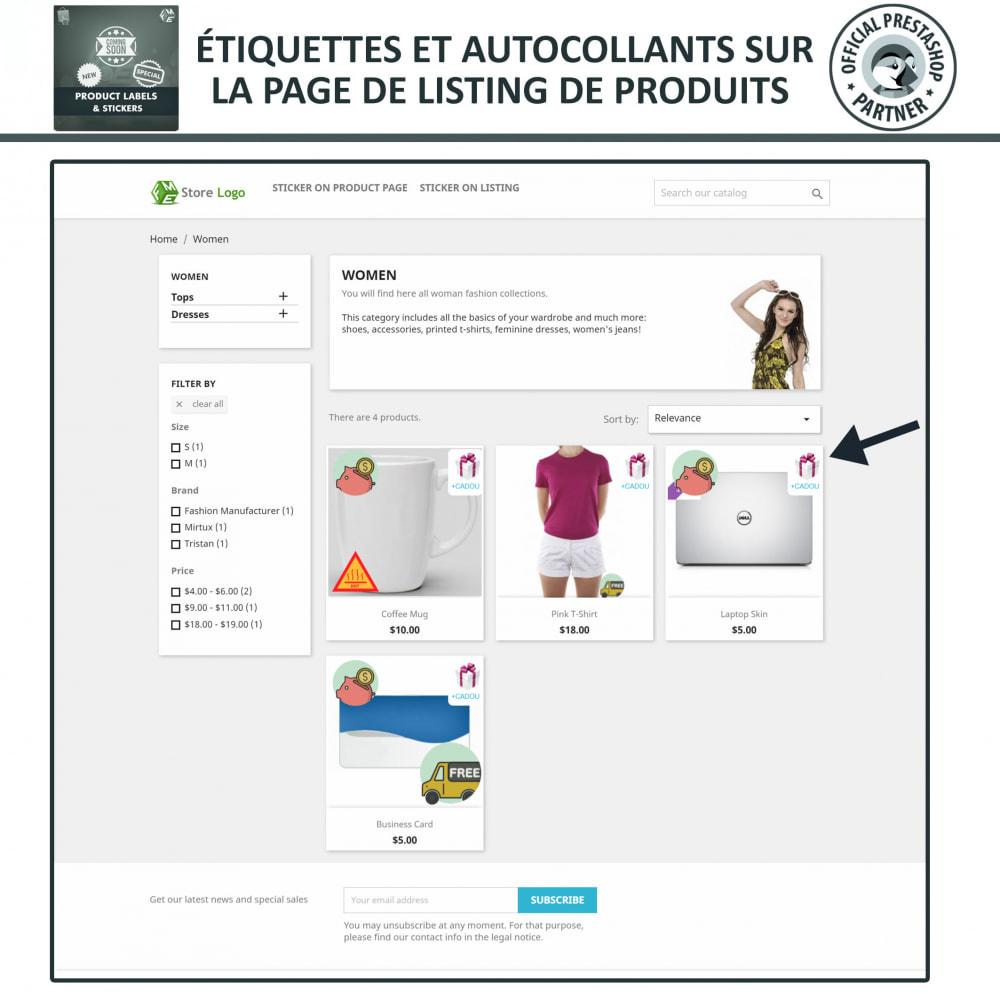 module - Etiquettes & Logos - Étiquettes de Produits et Autocollants - 2