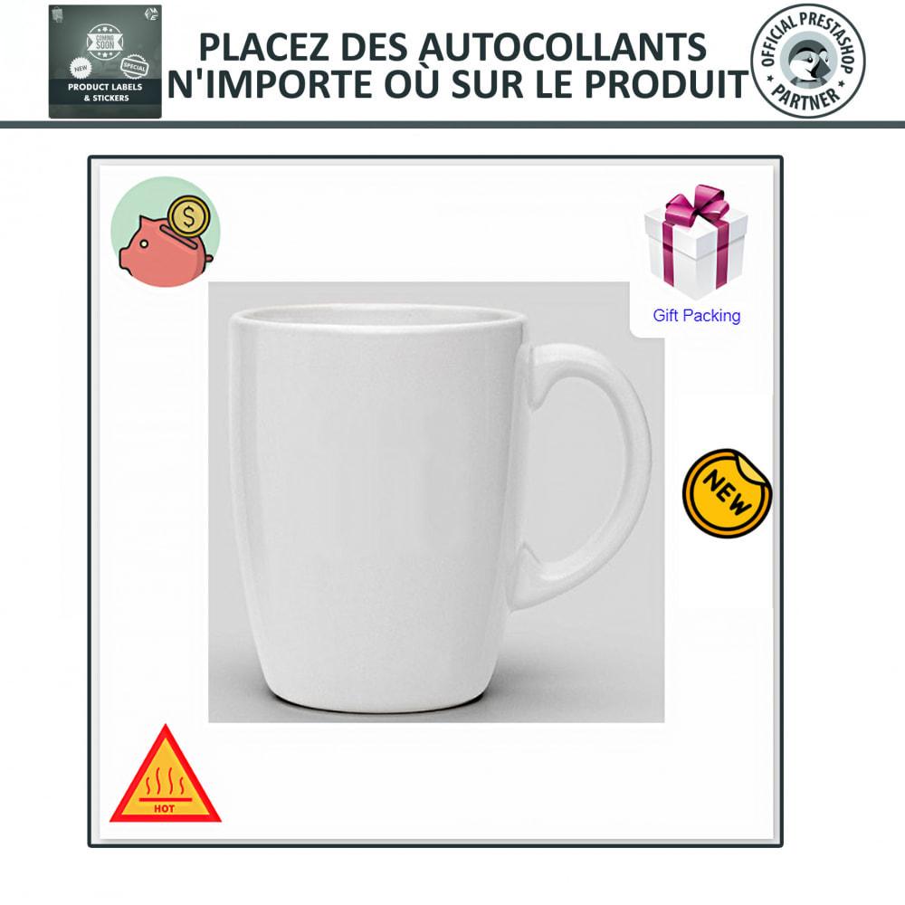module - Etiquettes & Logos - Étiquettes de Produits et Autocollants - 5