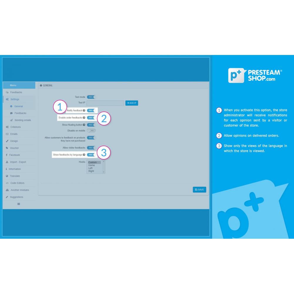 module - Отзывы клиентов - iFeedback - Advanced ratings - 18