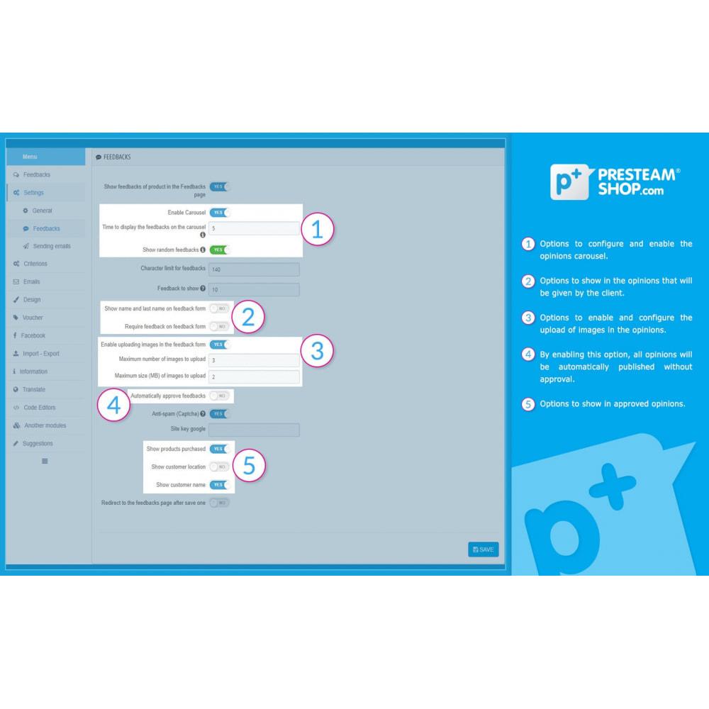module - Отзывы клиентов - iFeedback - Advanced ratings - 19