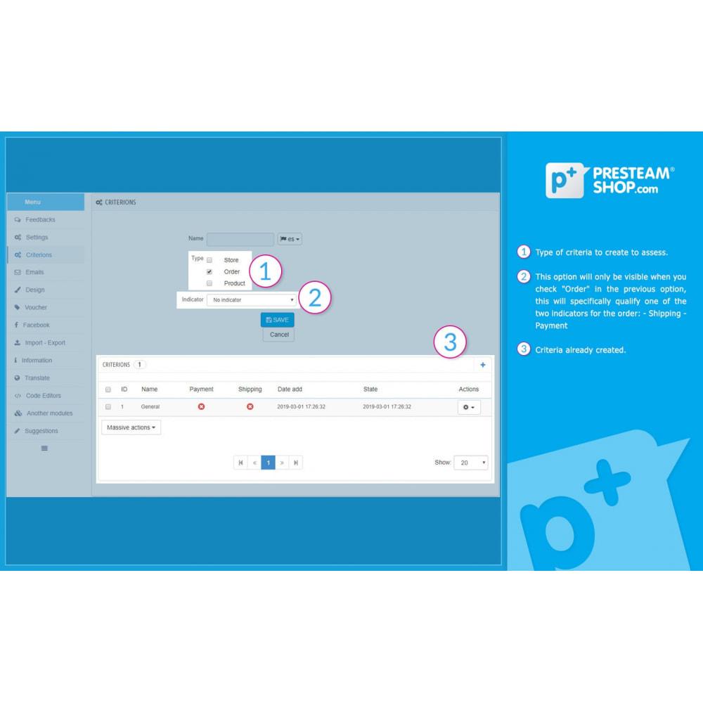 module - Отзывы клиентов - iFeedback - Advanced ratings - 21