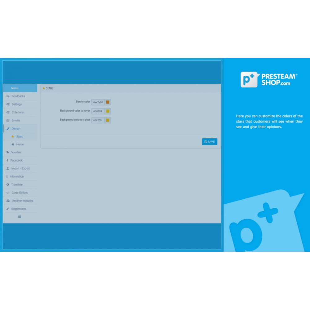 module - Отзывы клиентов - iFeedback - Advanced ratings - 25