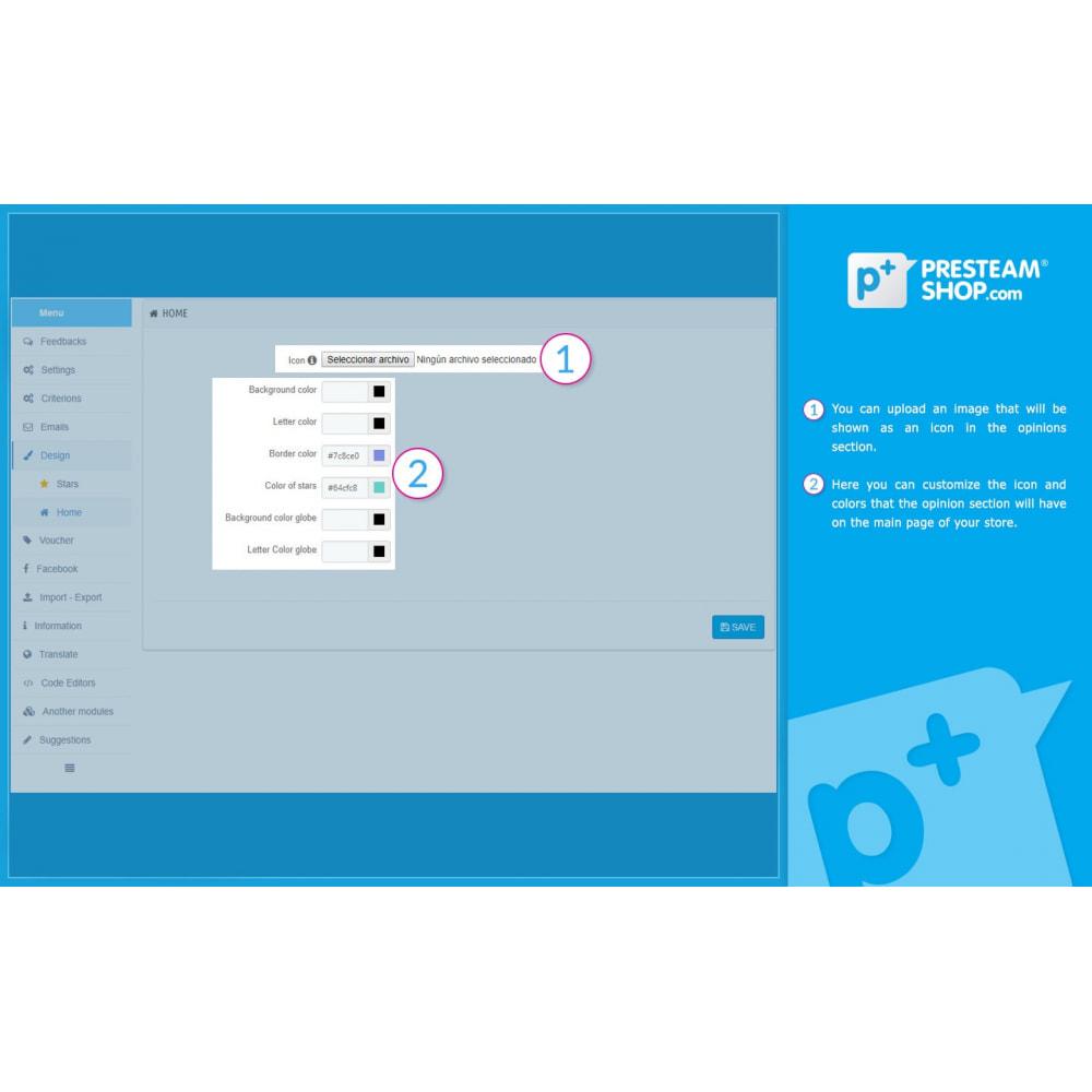 module - Отзывы клиентов - iFeedback - Advanced ratings - 26
