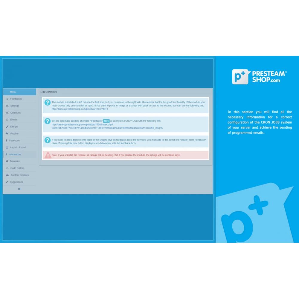 module - Отзывы клиентов - iFeedback - Advanced ratings - 30