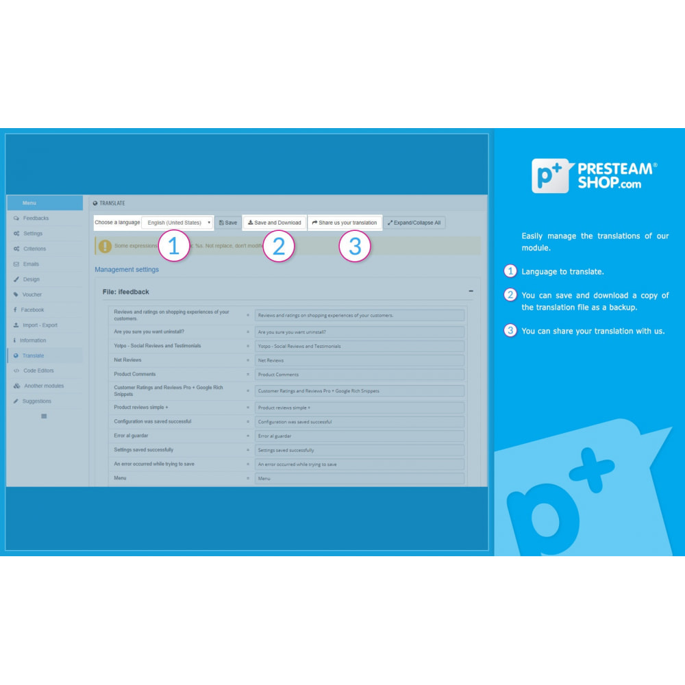 module - Отзывы клиентов - iFeedback - Advanced ratings - 31