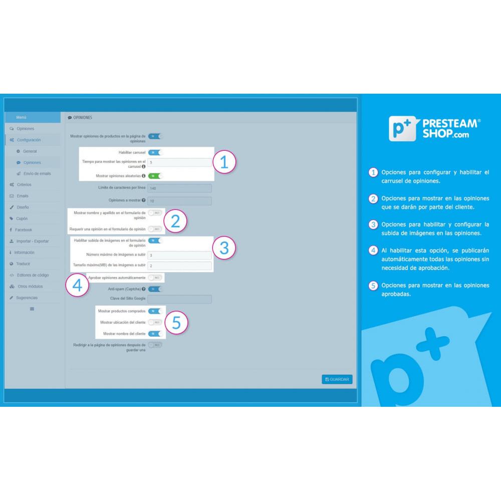 module - Comentarios de clientes - iFeedback - Valoraciónes avanzadas - 19
