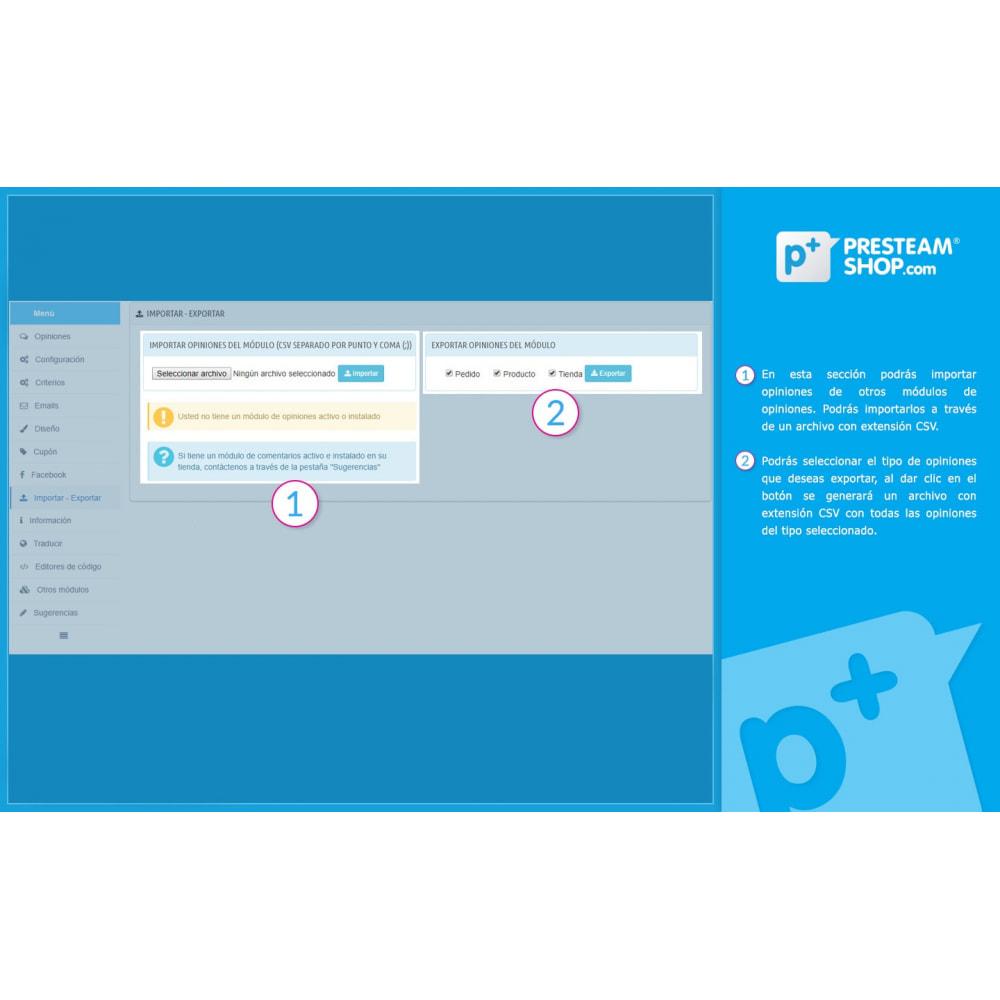 module - Comentarios de clientes - iFeedback - Valoraciónes avanzadas - 29