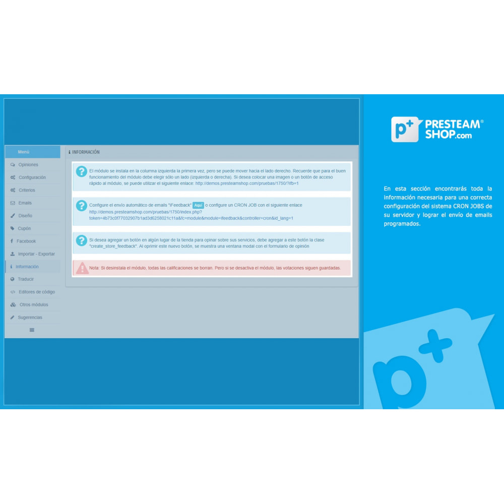 module - Comentarios de clientes - iFeedback - Valoraciónes avanzadas - 30