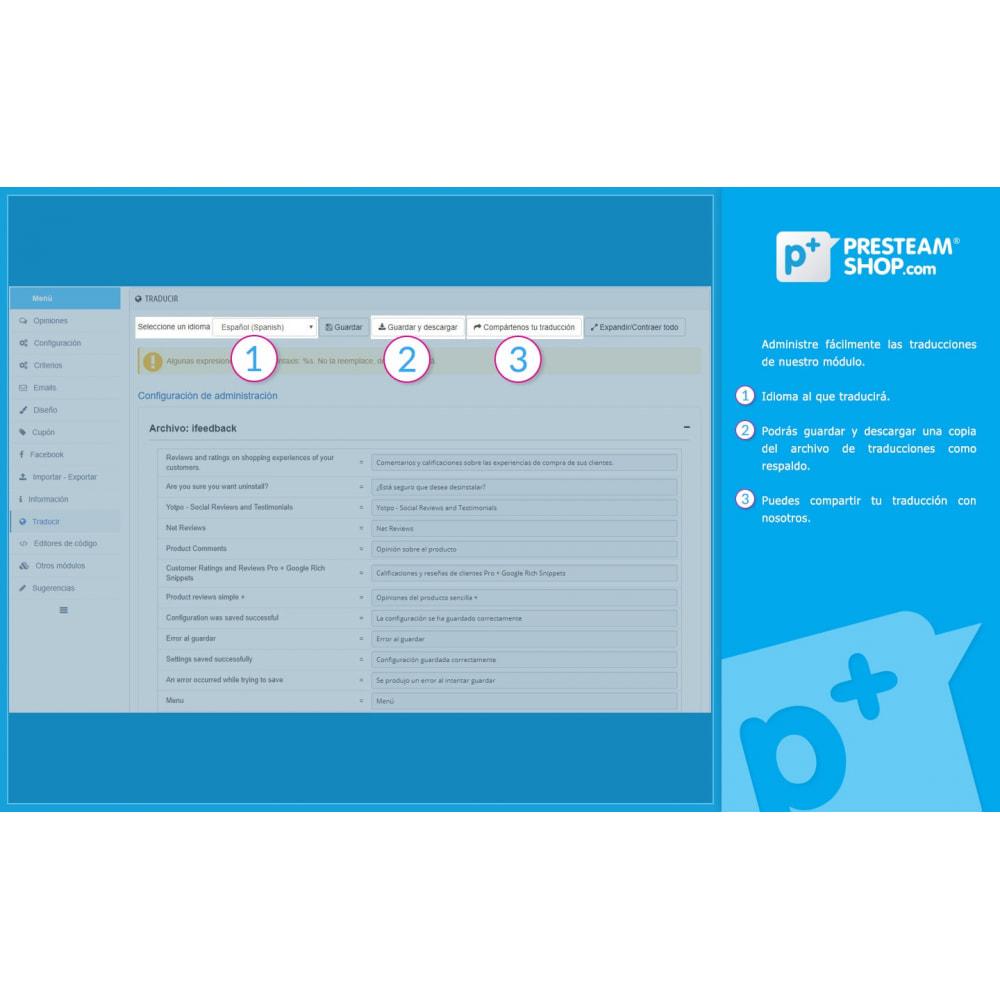 module - Comentarios de clientes - iFeedback - Valoraciónes avanzadas - 31
