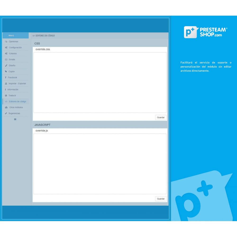 module - Comentarios de clientes - iFeedback - Valoraciónes avanzadas - 32