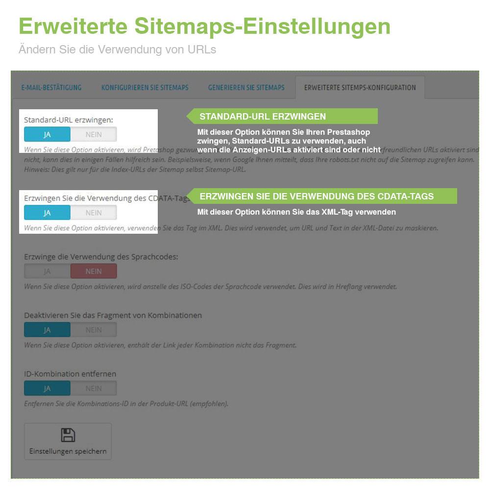 module - SEO - Multisprach und Multishop Sitemap Pro - SEO - 10